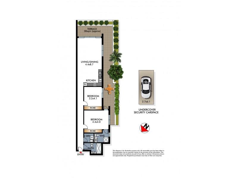 1/53 Birriga Road, Bellevue Hill NSW 2023 Floorplan