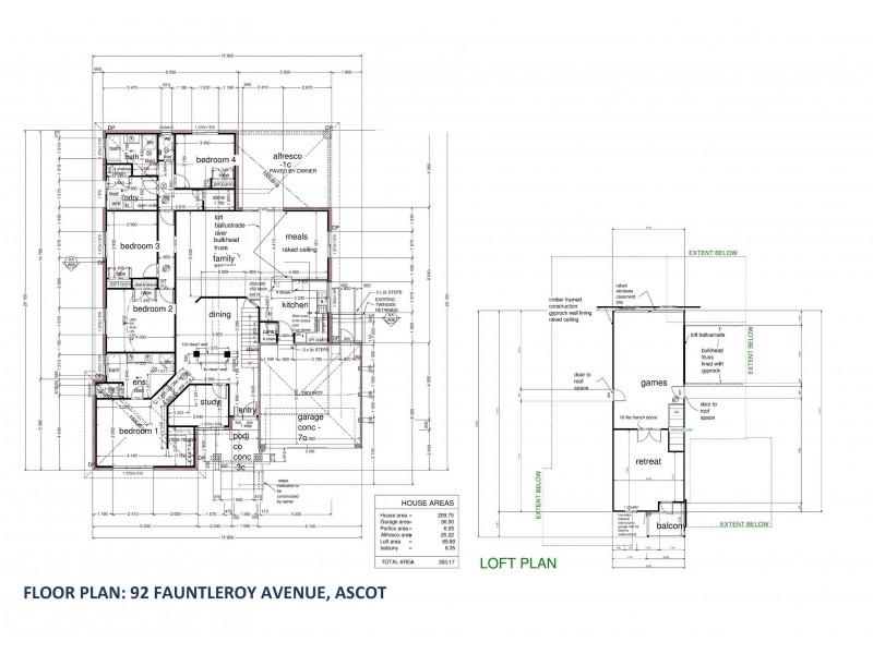 92 Fauntleroy Avenue, Ascot WA 6104 Floorplan