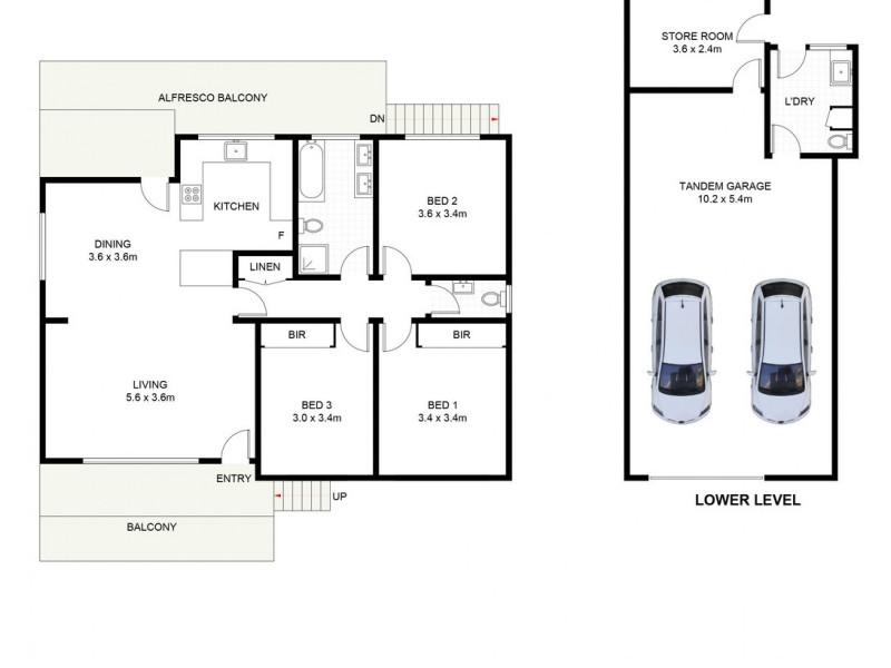 4 Wood Avenue, Mount Warrigal NSW 2528 Floorplan