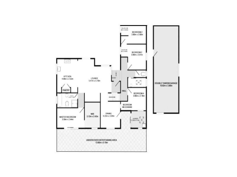 6 Rowley Avenue, Mount Warrigal NSW 2528 Floorplan