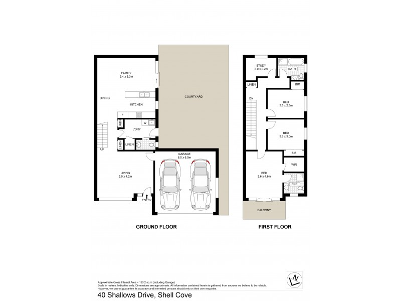 40 Shallows Drive, Shell Cove NSW 2529 Floorplan