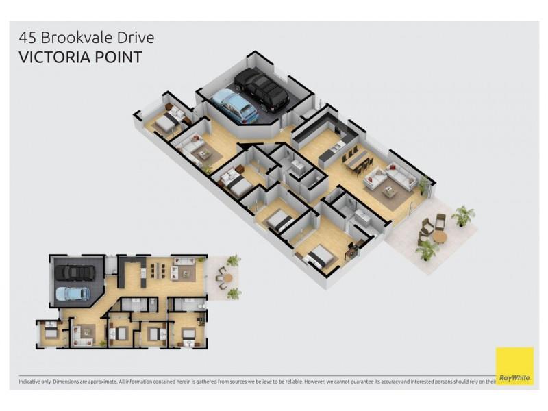 45 Brookvale Drive, Victoria Point QLD 4165 Floorplan