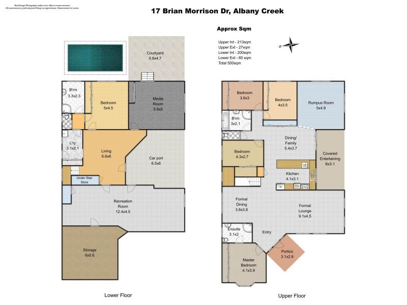 17 Brian Morrison Drive, Albany Creek QLD 4035 Floorplan