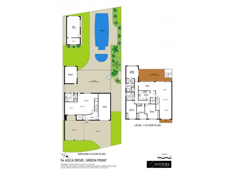 54 Asca Drive, Green Point NSW 2251 Floorplan