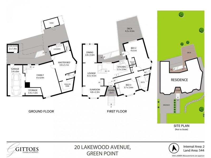 20 Lakewood Avenue, Green Point NSW 2251 Floorplan