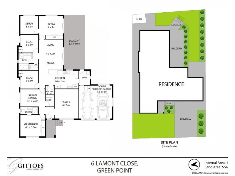 6 Lamont Close, Green Point NSW 2251 Floorplan