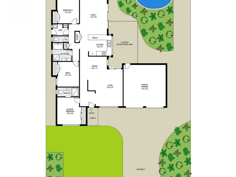53 James Sea Drive, Green Point NSW 2251 Floorplan