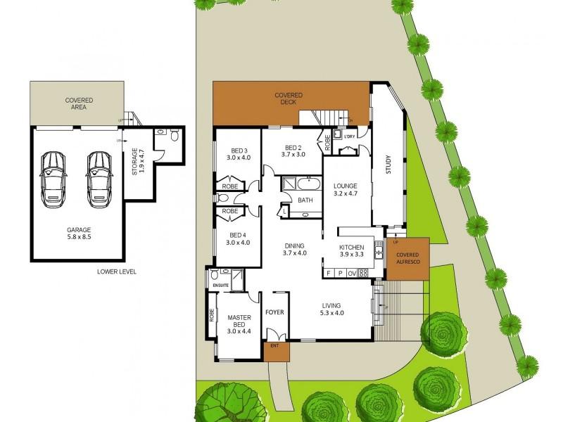 14 Beveridge Drive, Green Point NSW 2251 Floorplan