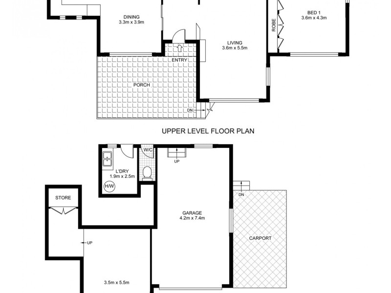 2 Kibble Street, Gosford NSW 2250 Floorplan