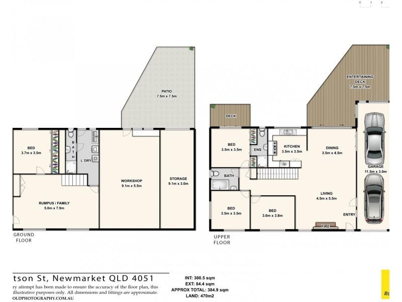 6 Watson Street, Newmarket QLD 4051 Floorplan