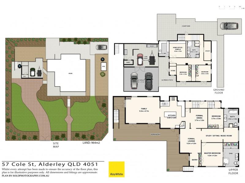 57 COLE ST, Alderley QLD 4051 Floorplan