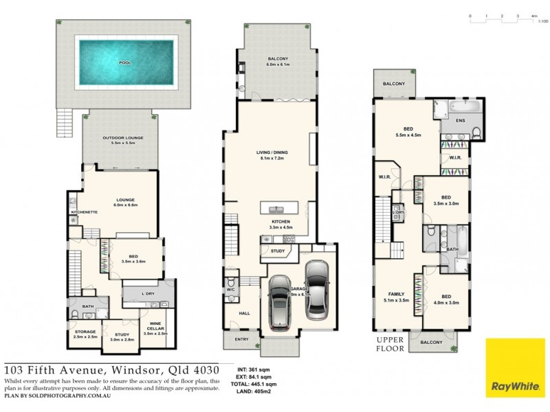 103 Fifth Avenue, Windsor QLD 4030 Floorplan
