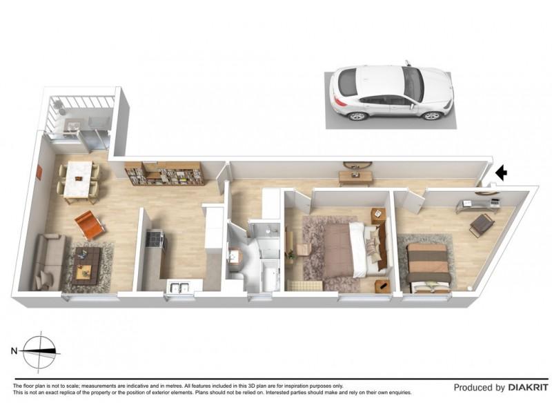 1/1 Brown Road, Maroubra NSW 2035 Floorplan