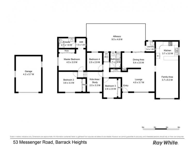 53 Messenger Road, Barrack Heights NSW 2528 Floorplan