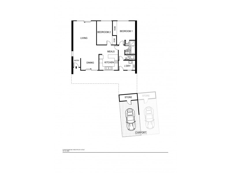 8/1 Evergood Close, Weston ACT 2611 Floorplan