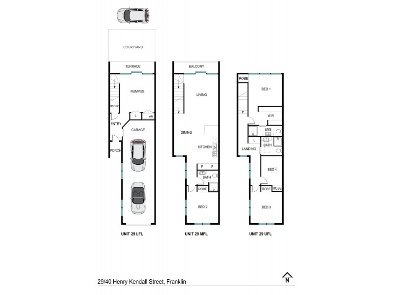 29/40 Henry Kendall Street, Franklin ACT 2913 Floorplan