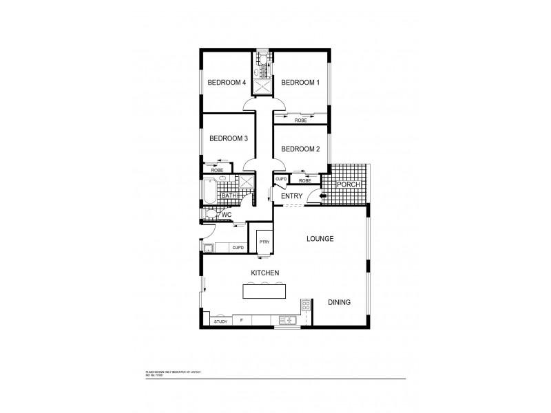 168 Newman-Morris Circuit, Oxley ACT 2903 Floorplan