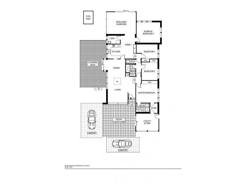 39 Ballarat Street, Fisher ACT 2611 Floorplan
