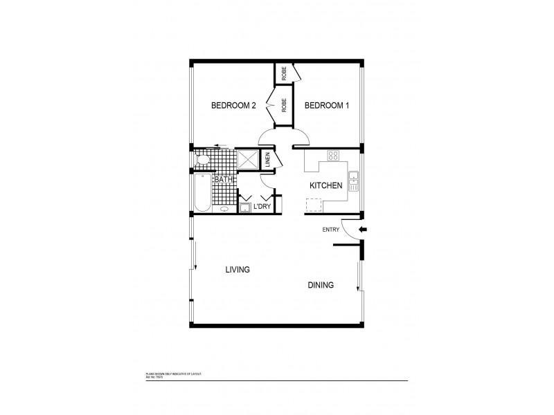 19 Goddard Crescent, Holt ACT 2615 Floorplan