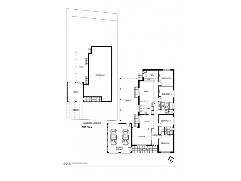 16 Kingscote Crescent, Bonython ACT 2905 Floorplan