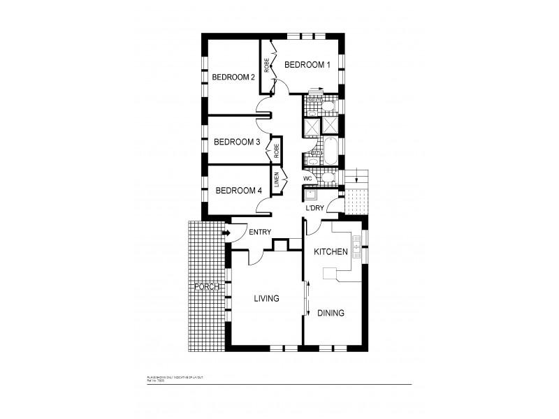 1 Louat Place, Evatt ACT 2617 Floorplan