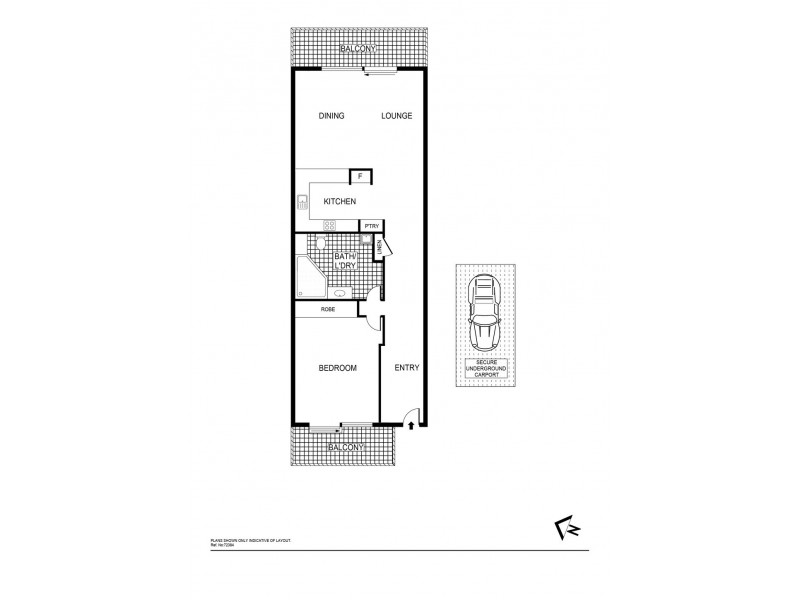 9/23 Aspinall Street, Watson ACT 2602 Floorplan