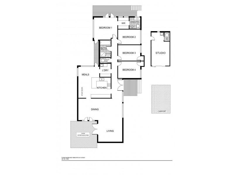 6 Walu Street, Aranda ACT 2614 Floorplan