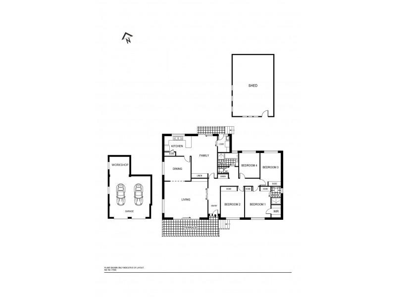 11 Merfield Place, Giralang ACT 2617 Floorplan