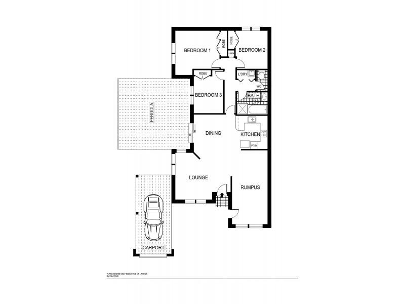 18 Yumba Avenue, Ngunnawal ACT 2913 Floorplan