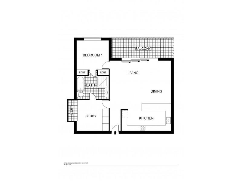 28/12 National Circuit, Barton ACT 2600 Floorplan