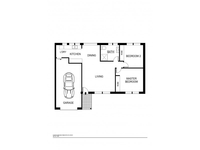 69 Dugdale Street, Cook ACT 2614 Floorplan