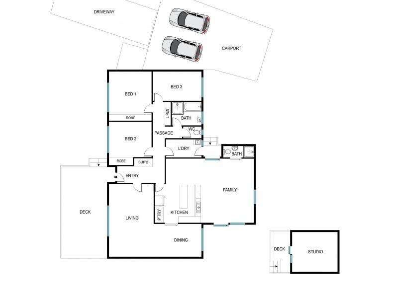 63 Brownless Street, Macgregor ACT 2615 Floorplan