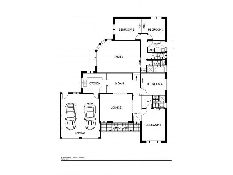 7 Counihan Court, Dunlop ACT 2615 Floorplan
