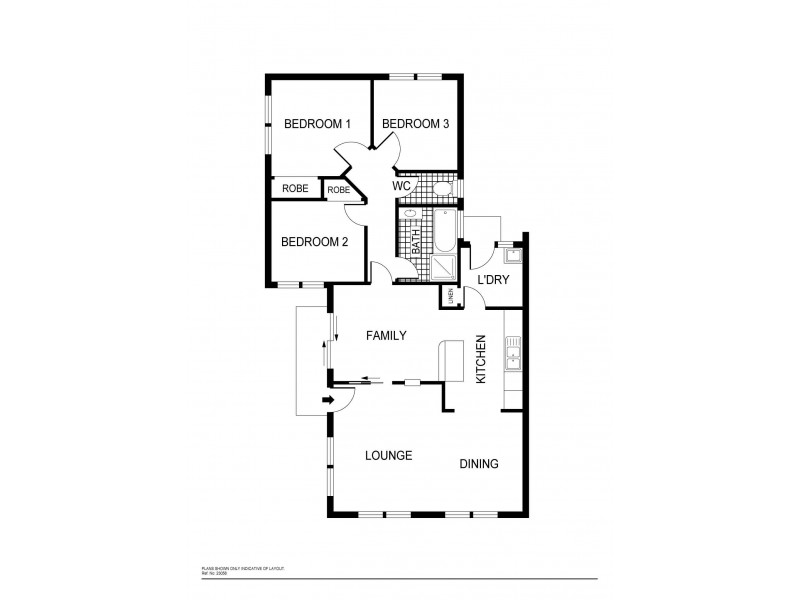11 Hart Close, Palmerston ACT 2913 Floorplan