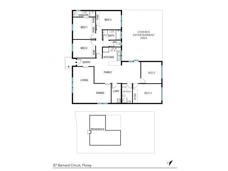 87 Barnard Circuit, Florey ACT 2615 Floorplan