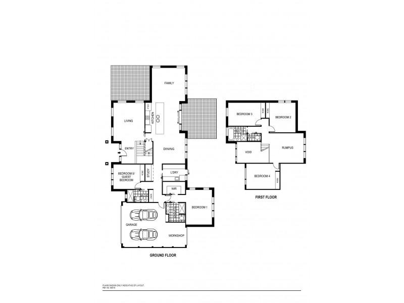 96 Gwen Meredith Loop, Franklin ACT 2913 Floorplan
