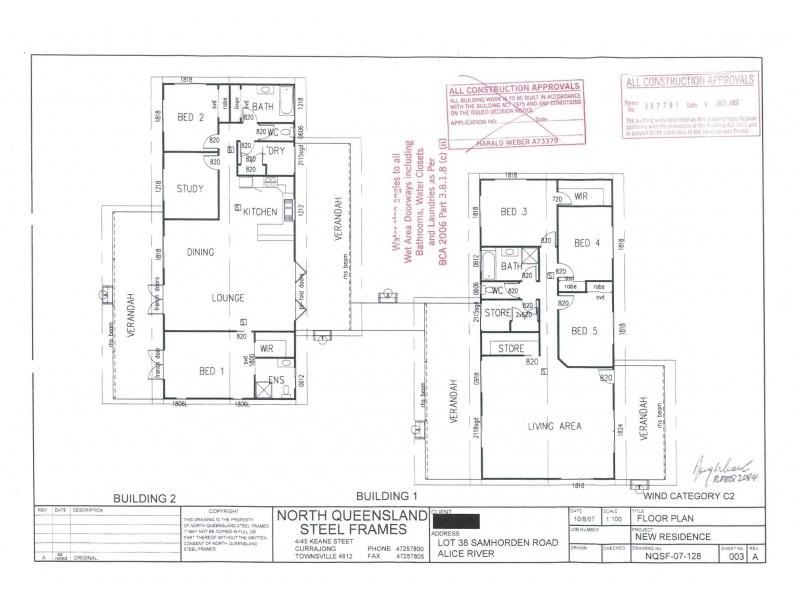 63 Samhordern Road, Alice River QLD 4817 Floorplan