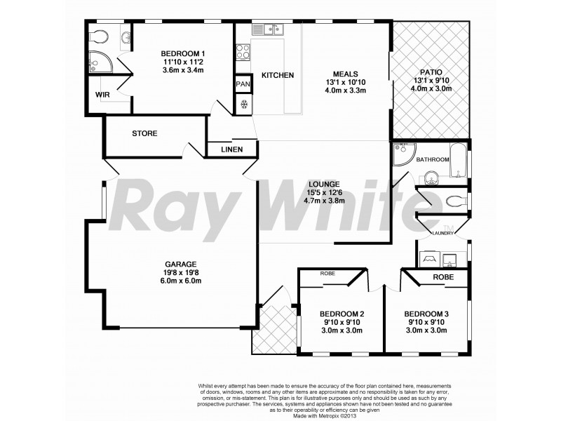 136 Innes Drive, Deeragun QLD 4818 Floorplan