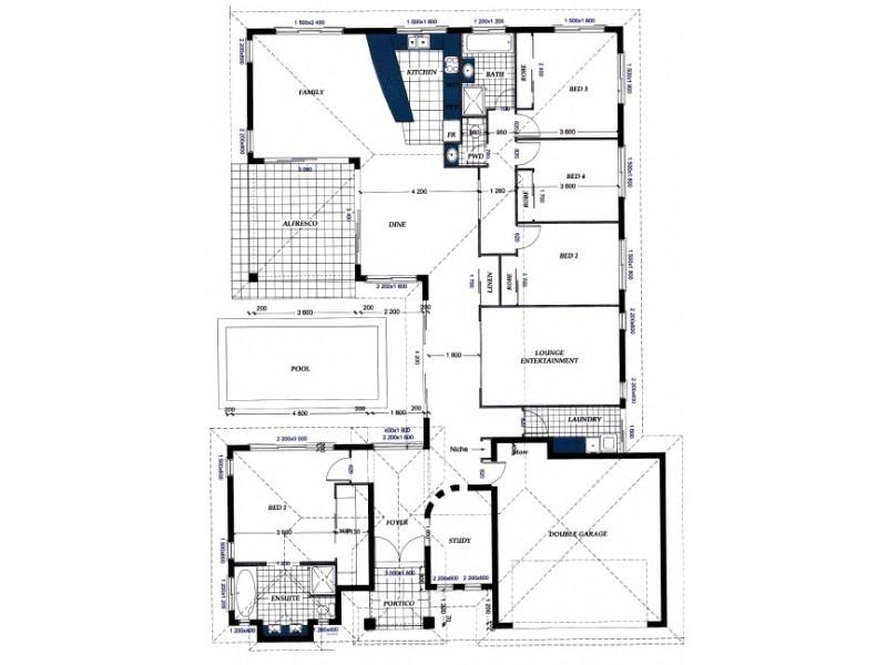 14 Kalynda Parade, Bohle Plains QLD 4817 Floorplan