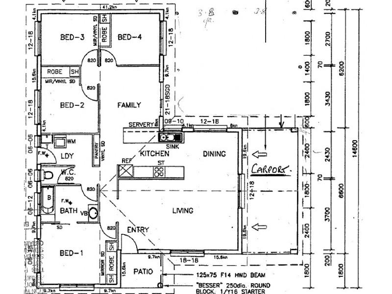 18 Currawong St, Condon QLD 4815 Floorplan