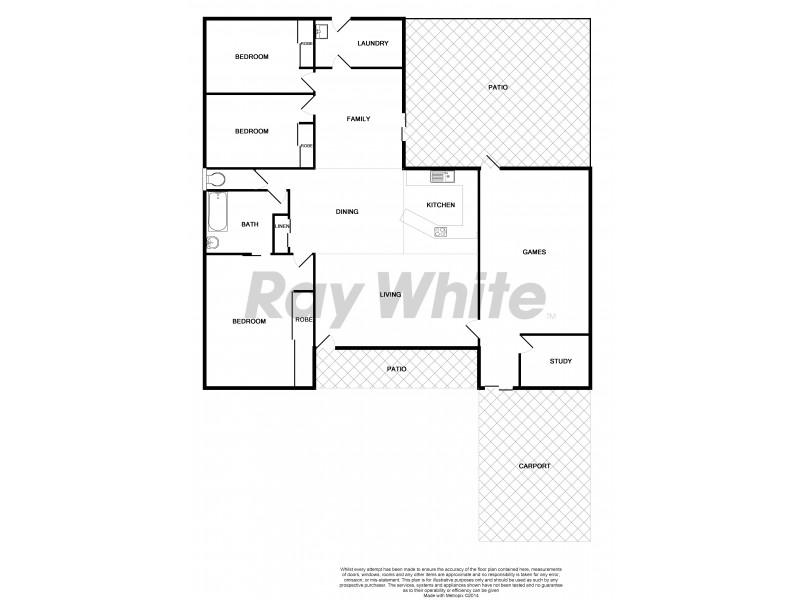 28 Leila Avenue, Rasmussen QLD 4815 Floorplan