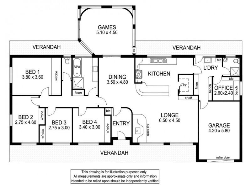 418 Sewarts Rd,, Allendale East SA 5291 Floorplan