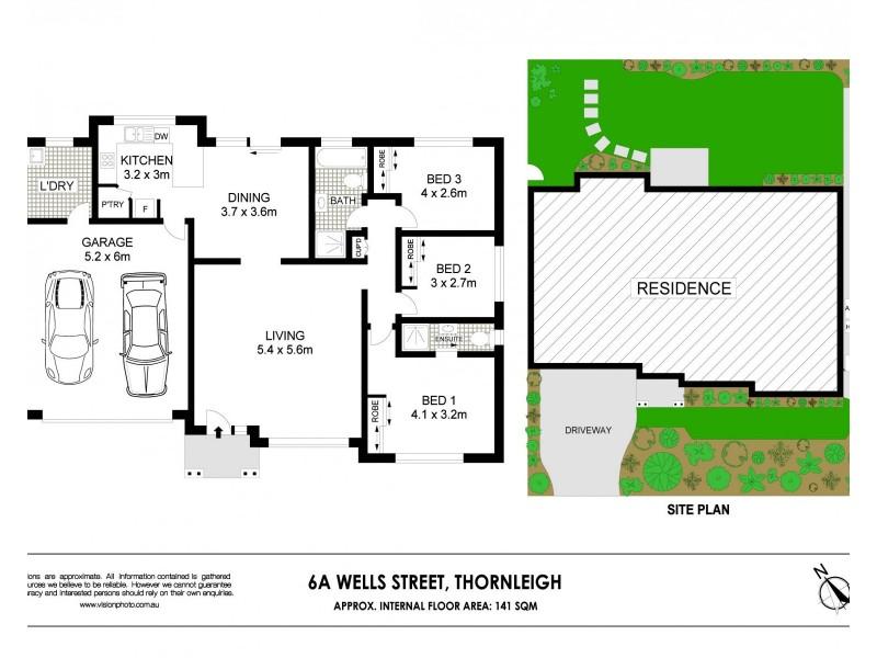 6A Wells Street, Thornleigh NSW 2120 Floorplan