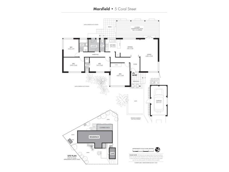 5 Coral Street, Marsfield NSW 2122 Floorplan