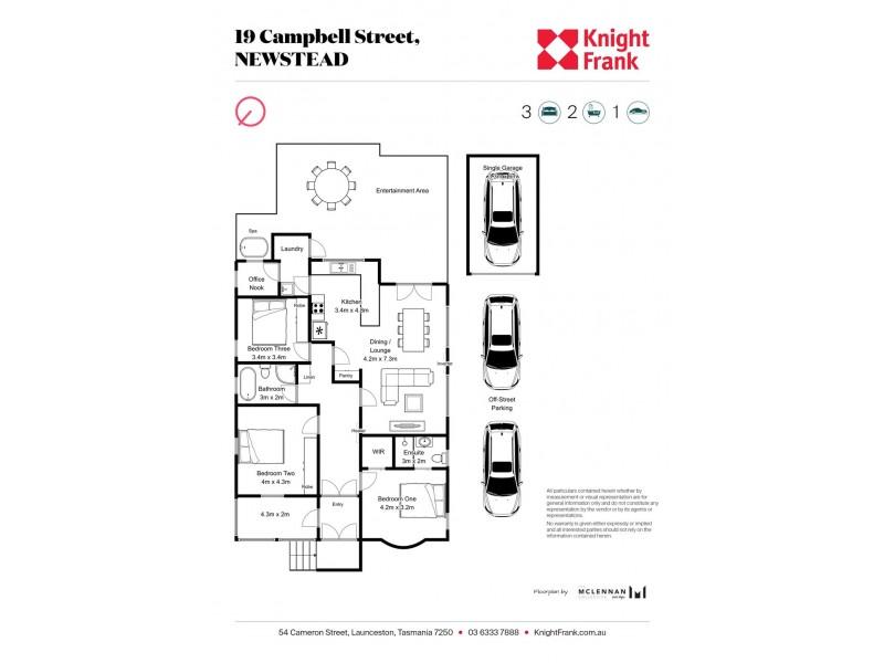 19 Campbell Street, Newstead TAS 7250 Floorplan