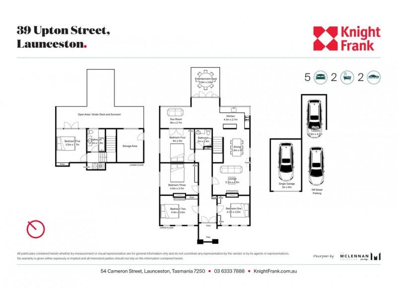 39 Upton Street, Launceston TAS 7250 Floorplan