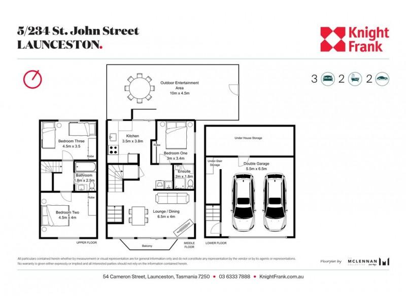 5/234 St John Street, Launceston TAS 7250 Floorplan