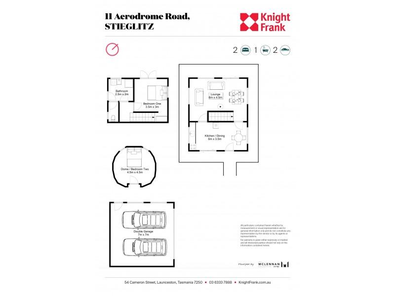 11 Aerodrome Road, Stieglitz TAS 7216 Floorplan
