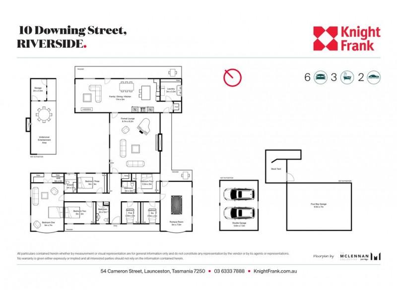 10 Downing Street, Riverside TAS 7250 Floorplan