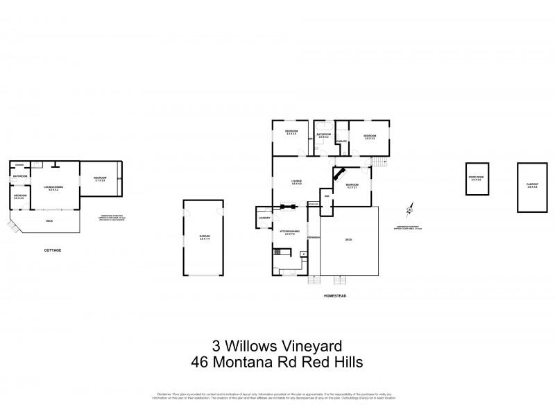46 Montana Road, Red Hills, Deloraine TAS 7304 Floorplan